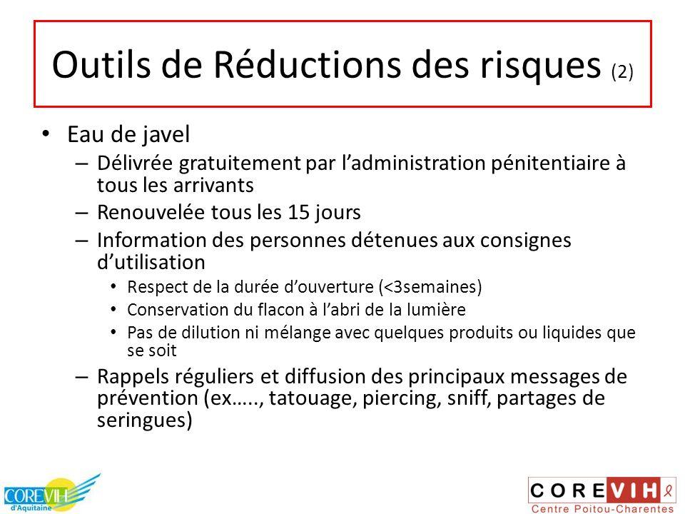 Outils de Réductions des risques (2)