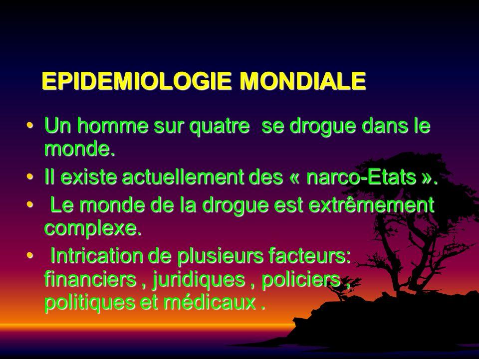 EPIDEMIOLOGIE MONDIALE