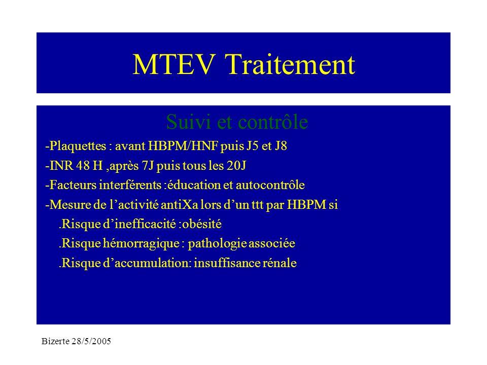 MTEV Traitement Suivi et contrôle