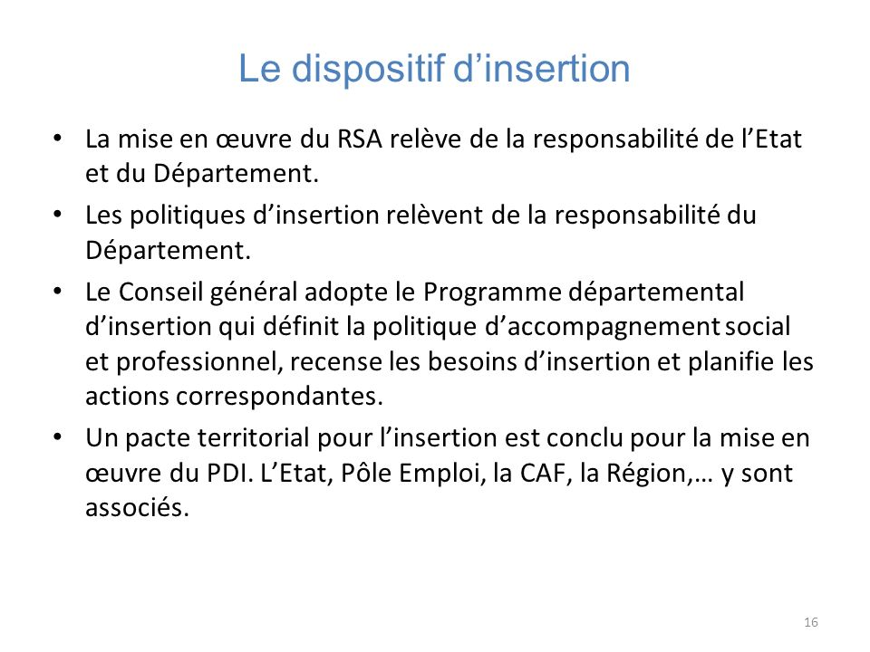 Le dispositif d'insertion