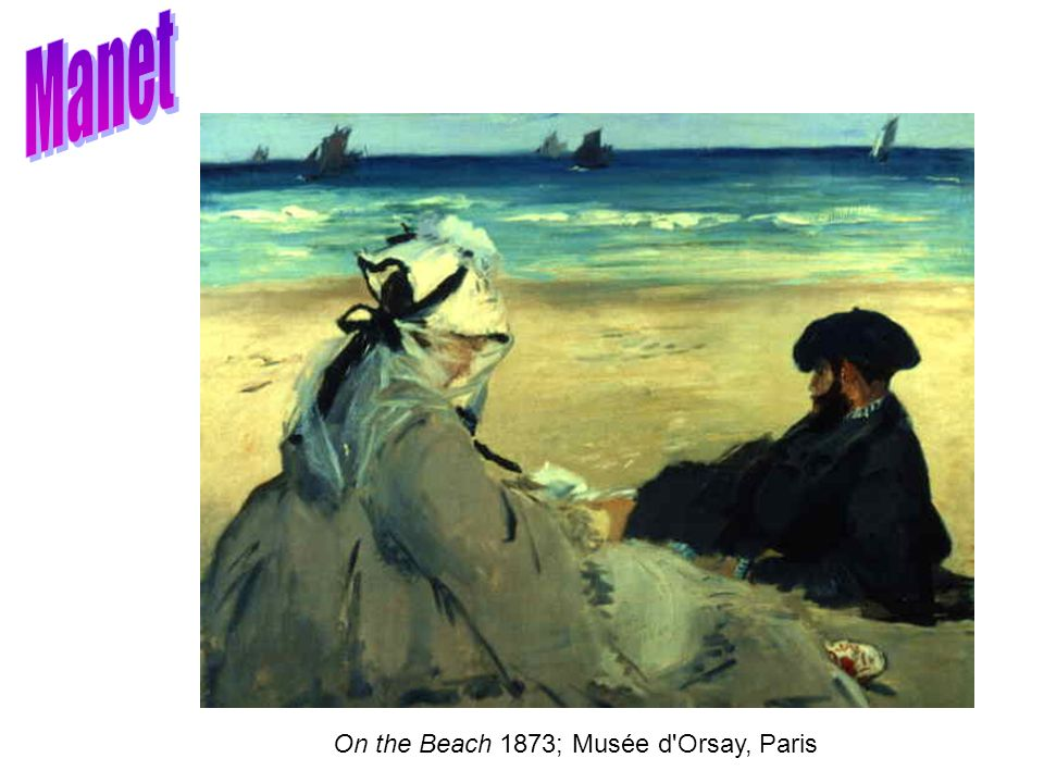 Manet On the Beach 1873; Musée d Orsay, Paris