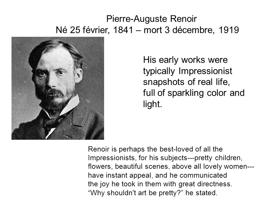 Né 25 février, 1841 – mort 3 décembre, 1919