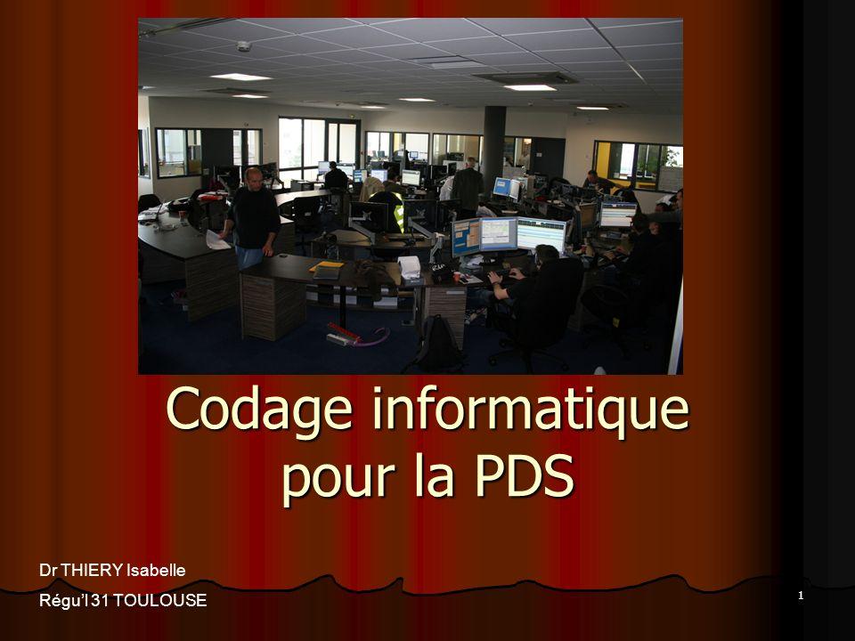 Codage informatique pour la PDS