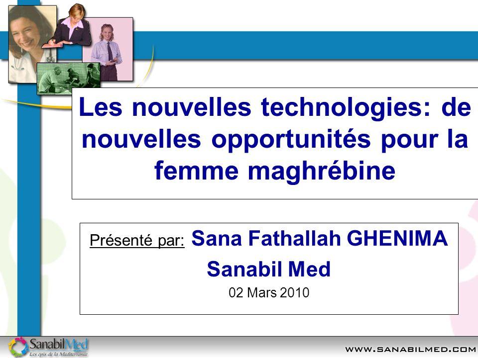 Présenté par: Sana Fathallah GHENIMA Sanabil Med 02 Mars 2010