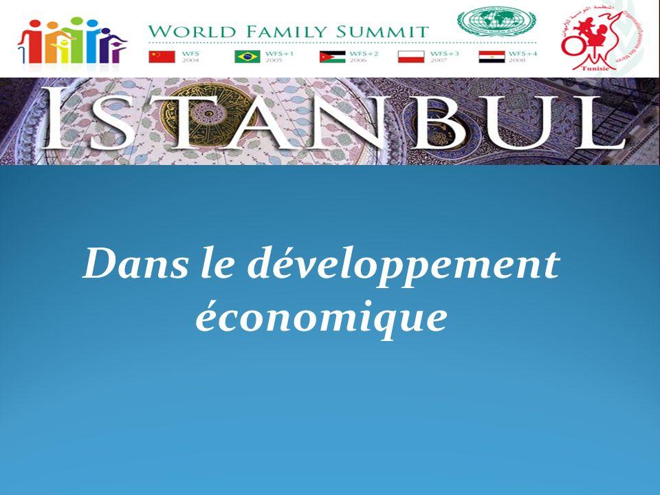 Dans le développement économique