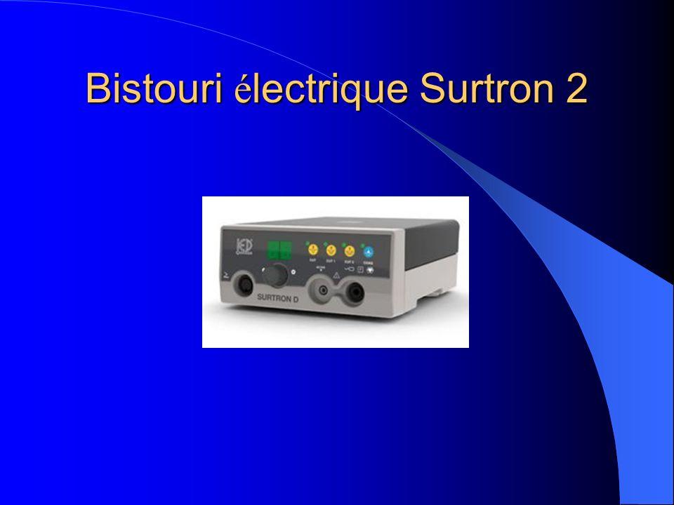 Bistouri électrique Surtron 2