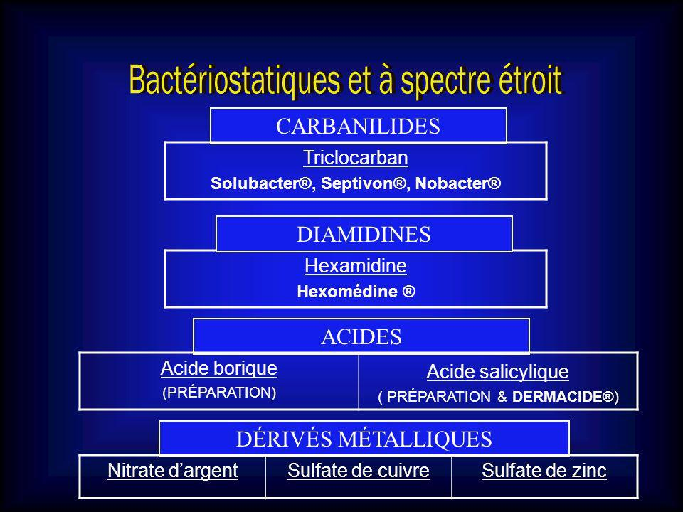 Solubacter®, Septivon®, Nobacter®