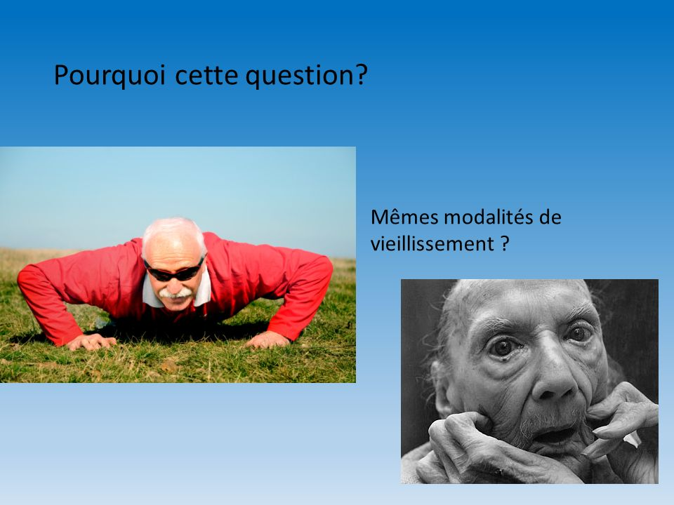 Pourquoi cette question