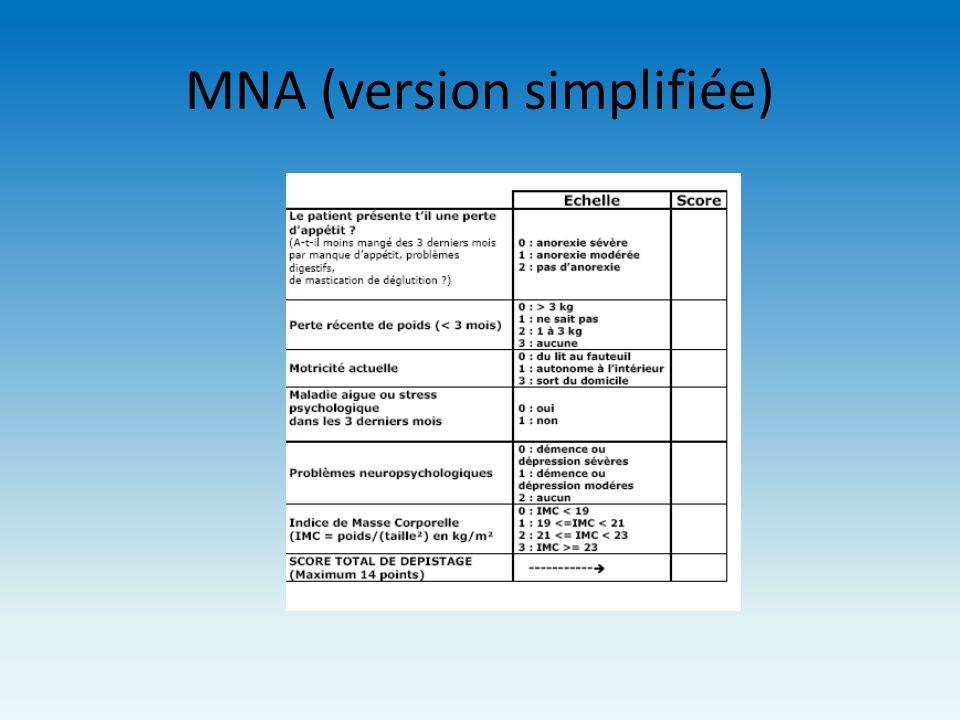 MNA (version simplifiée)