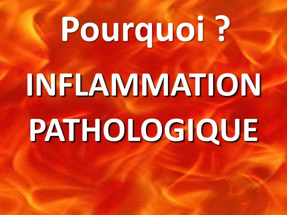 Pourquoi INFLAMMATION PATHOLOGIQUE 8