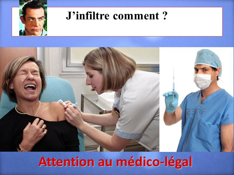 Attention au médico-légal