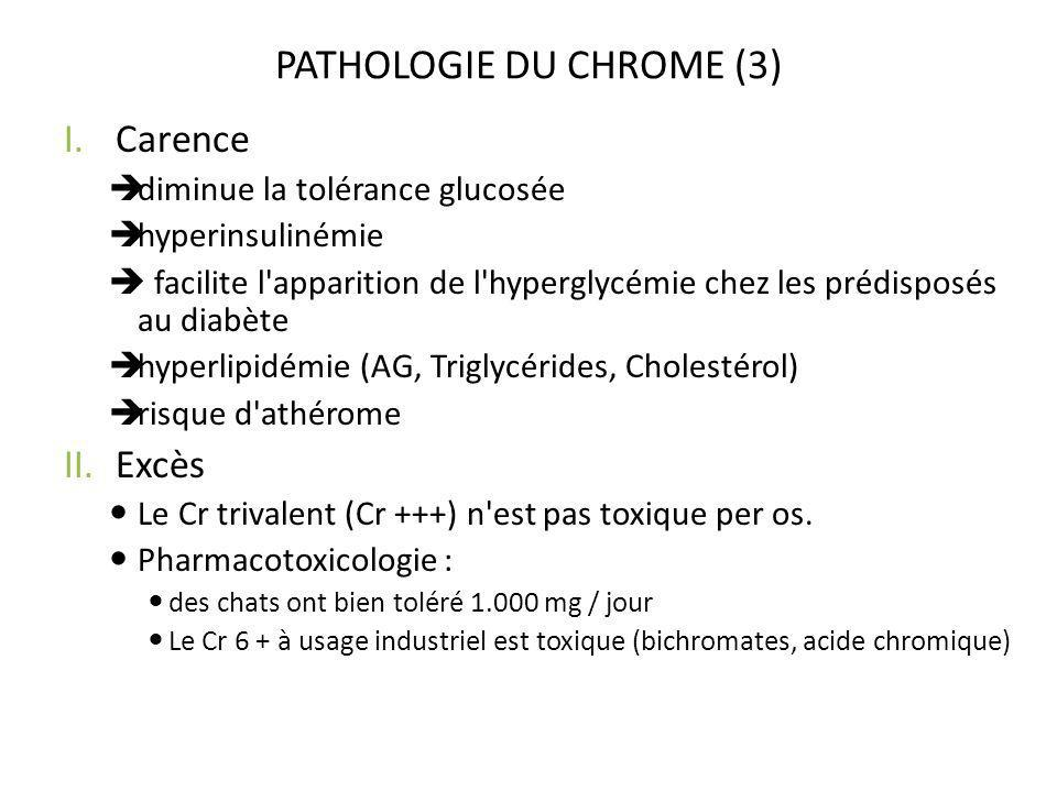 PATHOLOGIE DU CHROME (3)