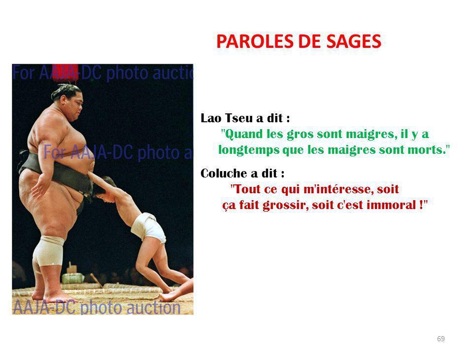 PAROLES DE SAGES