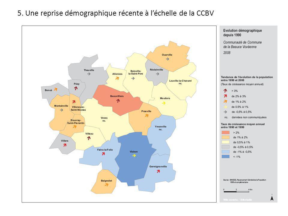 5. Une reprise démographique récente à l'échelle de la CCBV