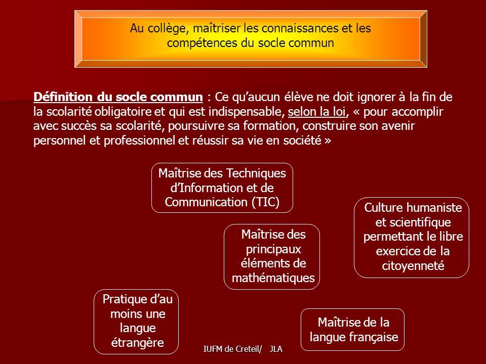 Maîtrise des Techniques d'Information et de Communication (TIC)