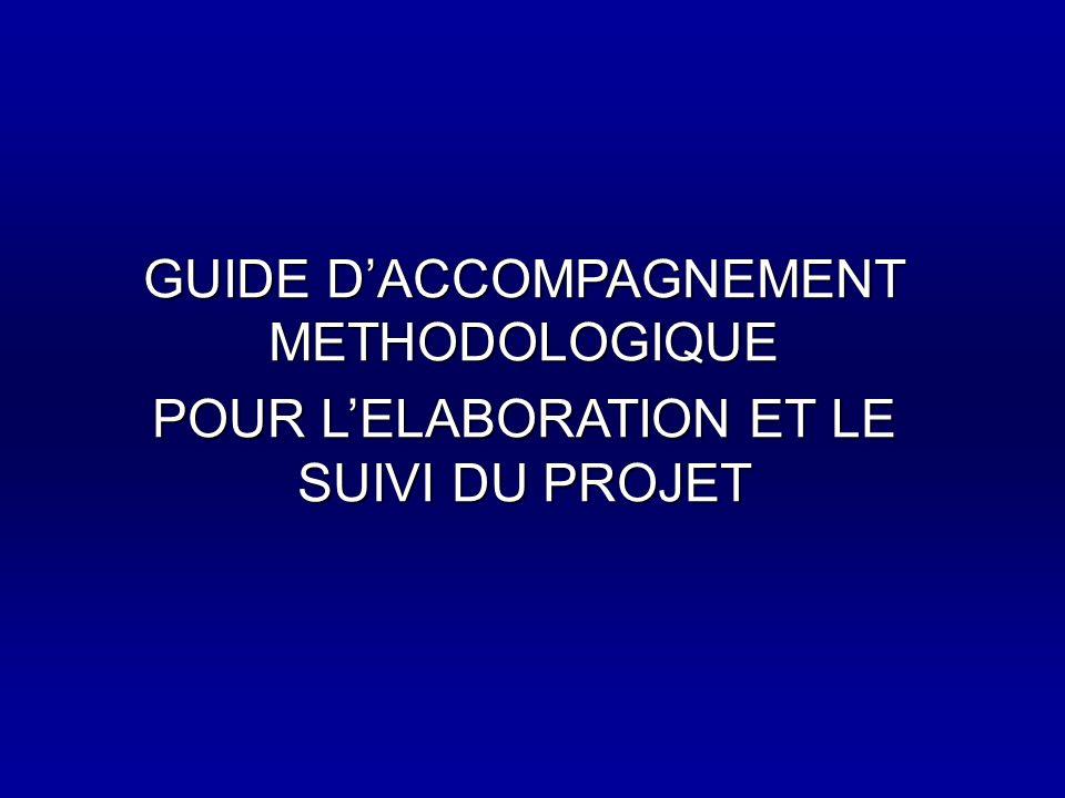 GUIDE D'ACCOMPAGNEMENT METHODOLOGIQUE