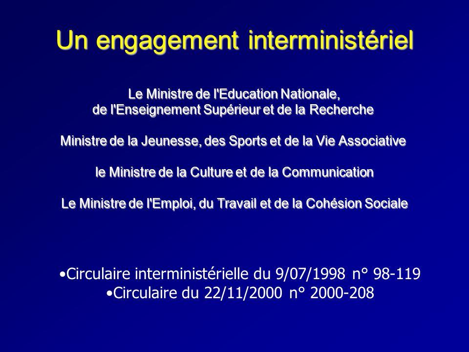 Circulaire interministérielle du 9/07/1998 n° 98-119