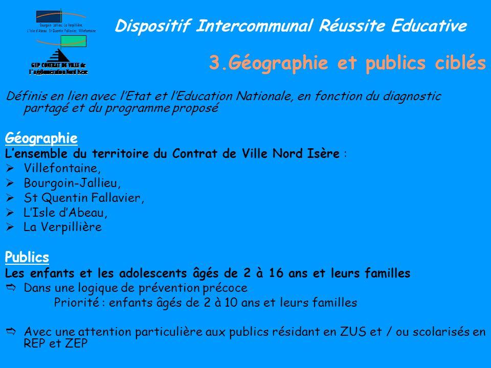 GIP CONTRAT DE VILLE de l'agglomération Nord Isère