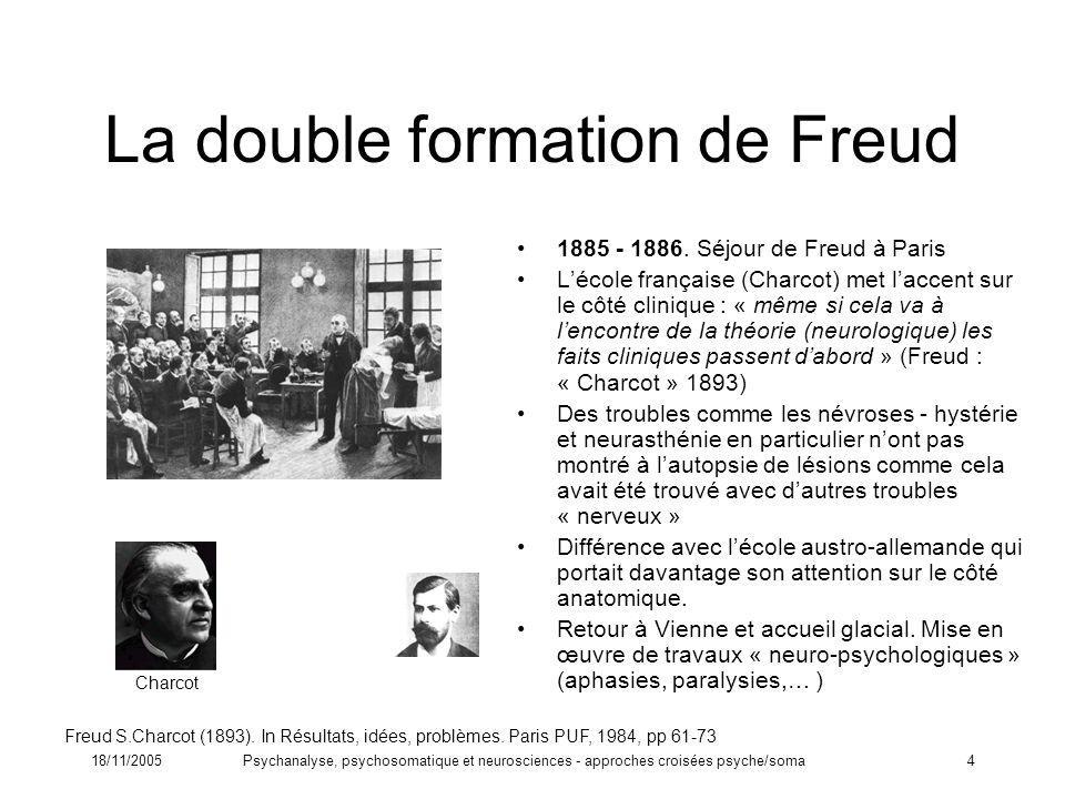 La double formation de Freud