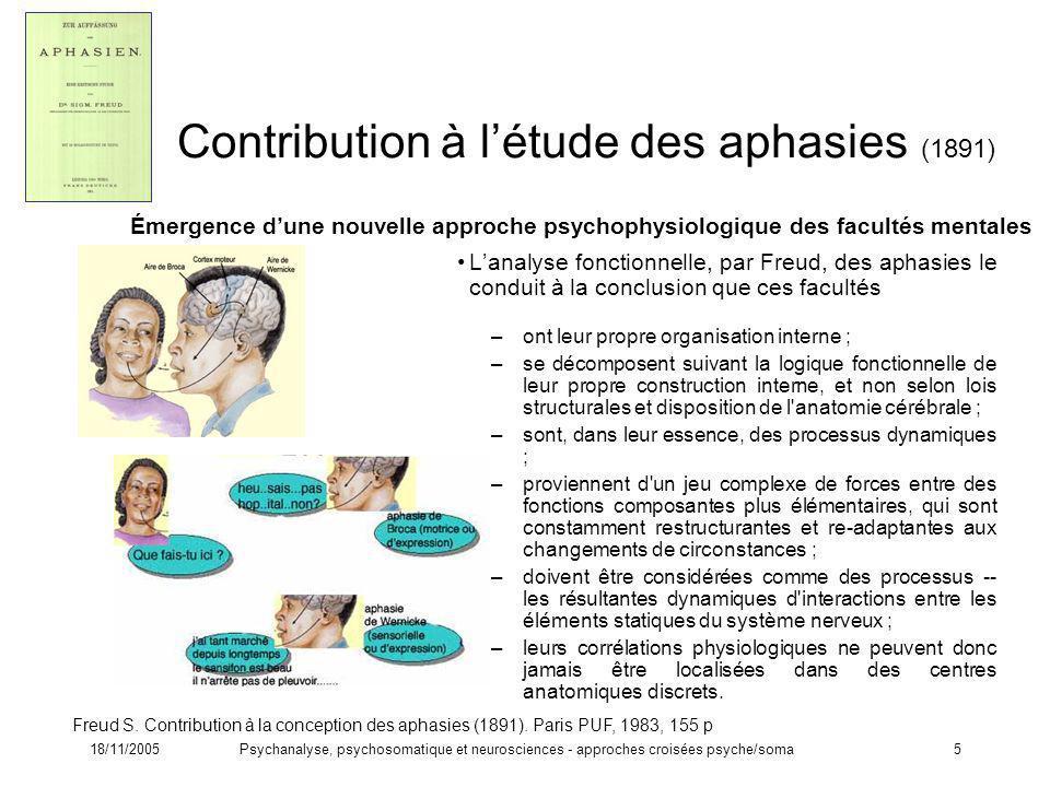 Contribution à l'étude des aphasies (1891)