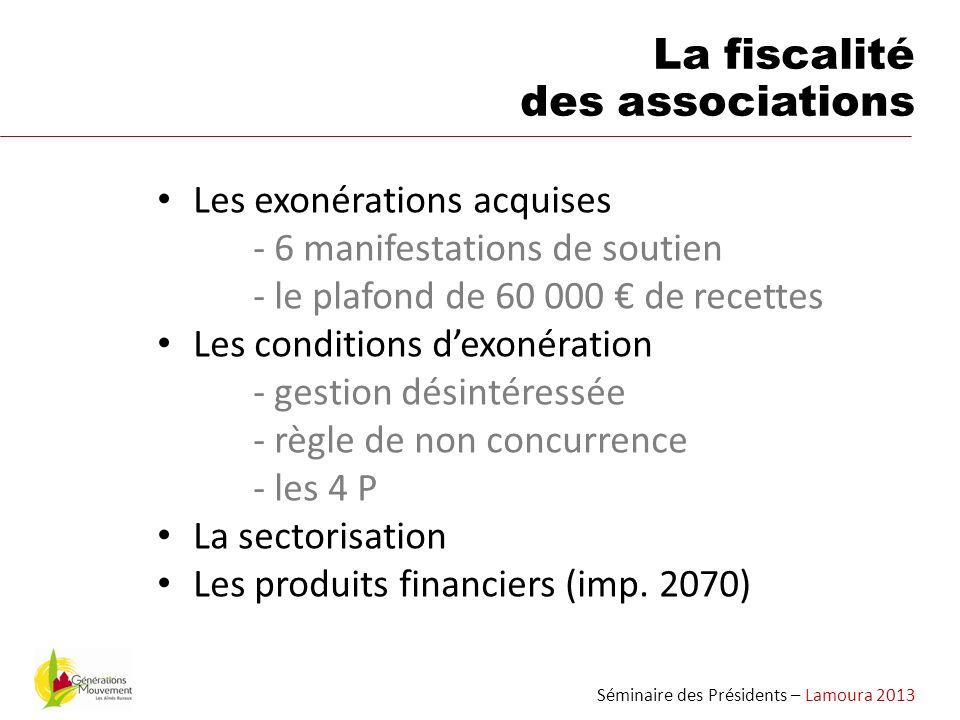 La fiscalité des associations