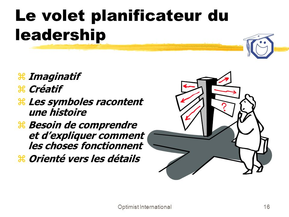 Le volet planificateur du leadership