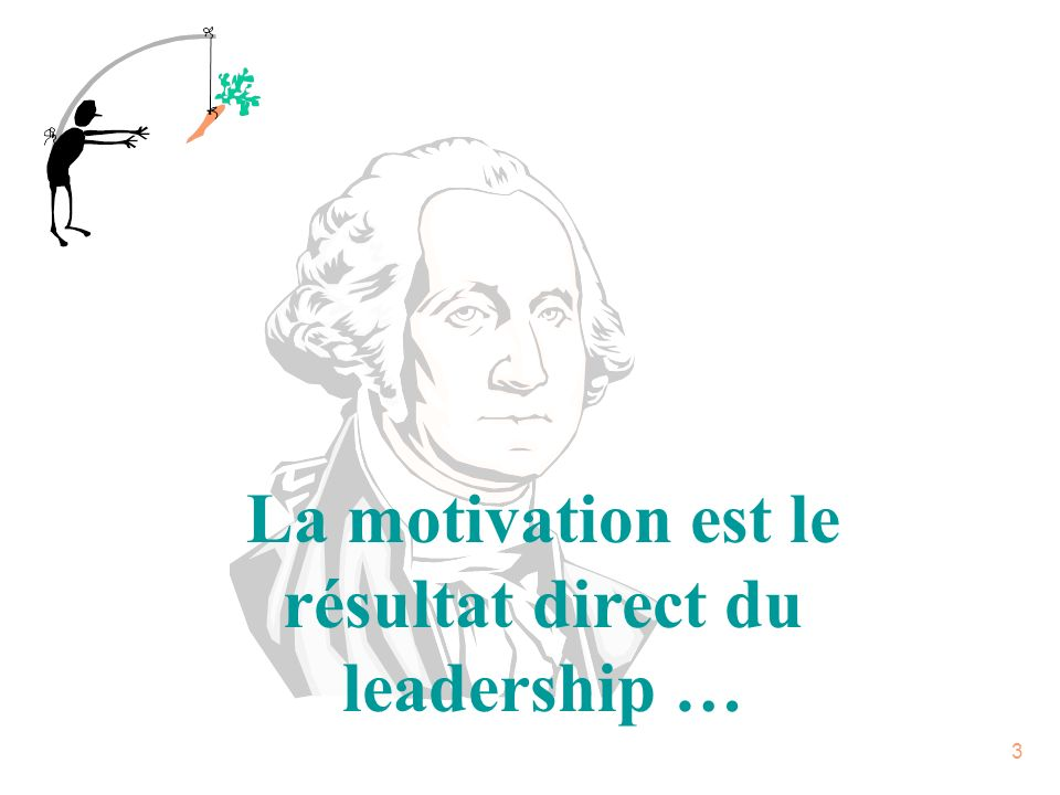La motivation est le résultat direct du leadership …