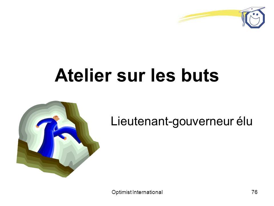 Lieutenant-gouverneur élu