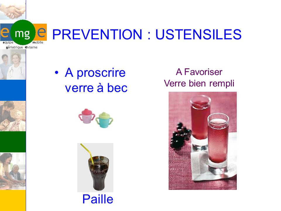 PREVENTION : USTENSILES