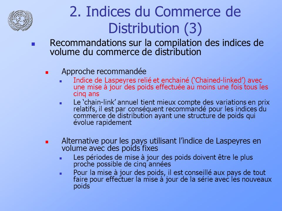 2. Indices du Commerce de Distribution (3)