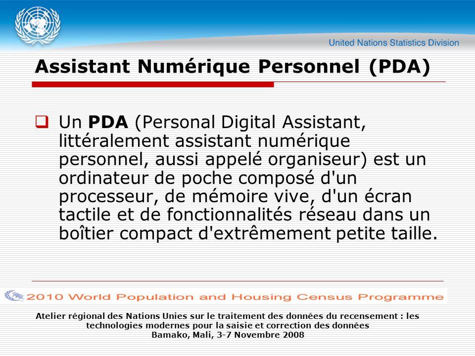 Assistant Numérique Personnel (PDA)