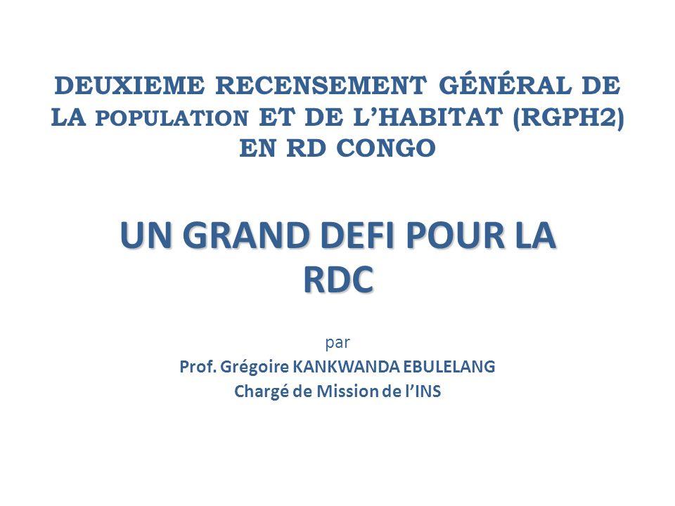 UN GRAND DEFI POUR LA RDC