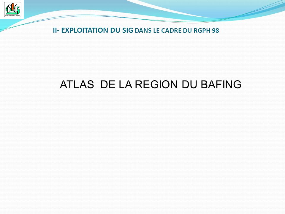 ATLAS DE LA REGION DU BAFING