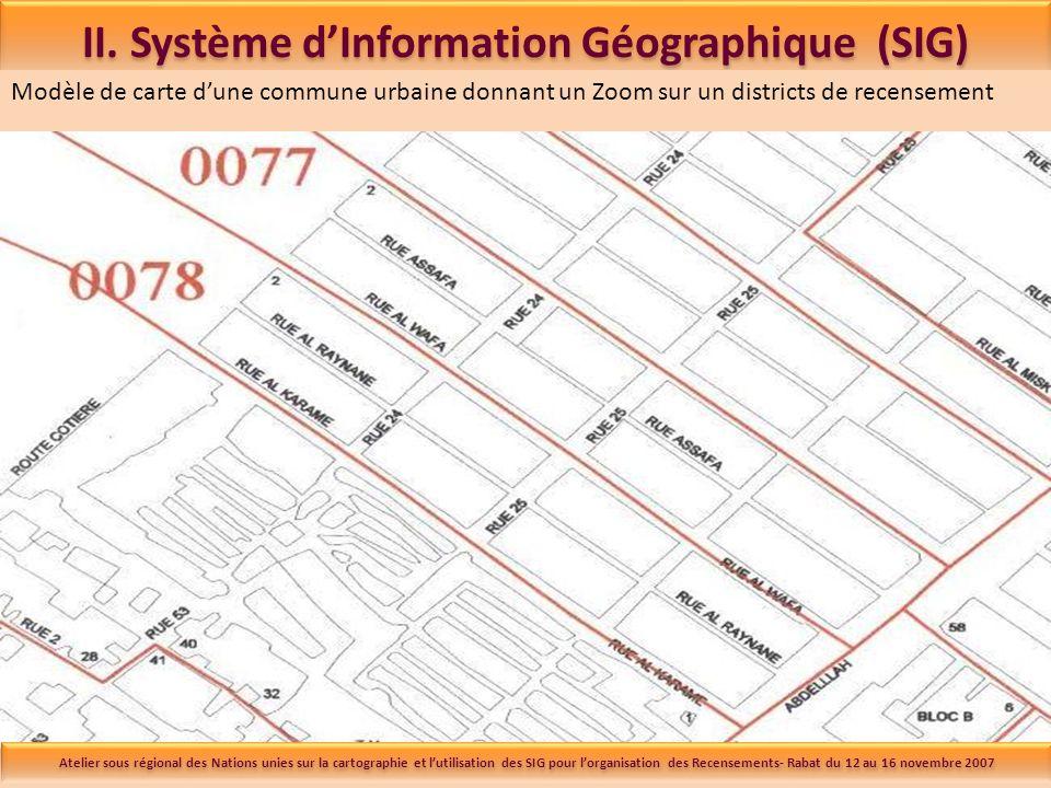 Système d'Information Géographique du Haut-Commissariat au Plan