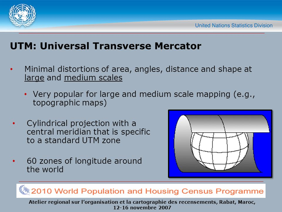 UTM: Universal Transverse Mercator