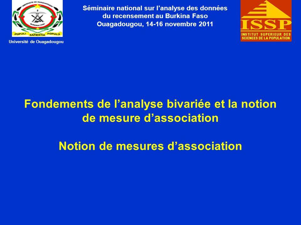 Ouagadougou, 14-16 novembre 2011