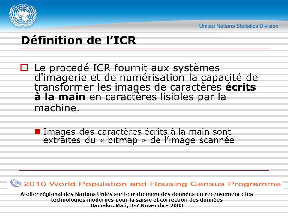 Définition de l'ICR