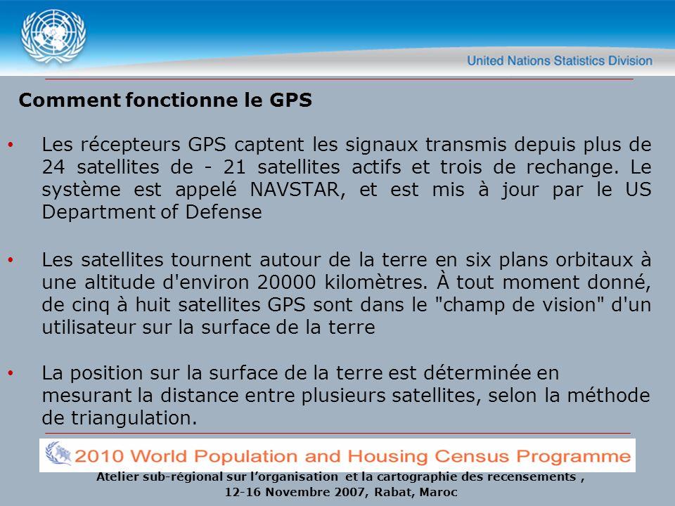 Comment fonctionne le GPS