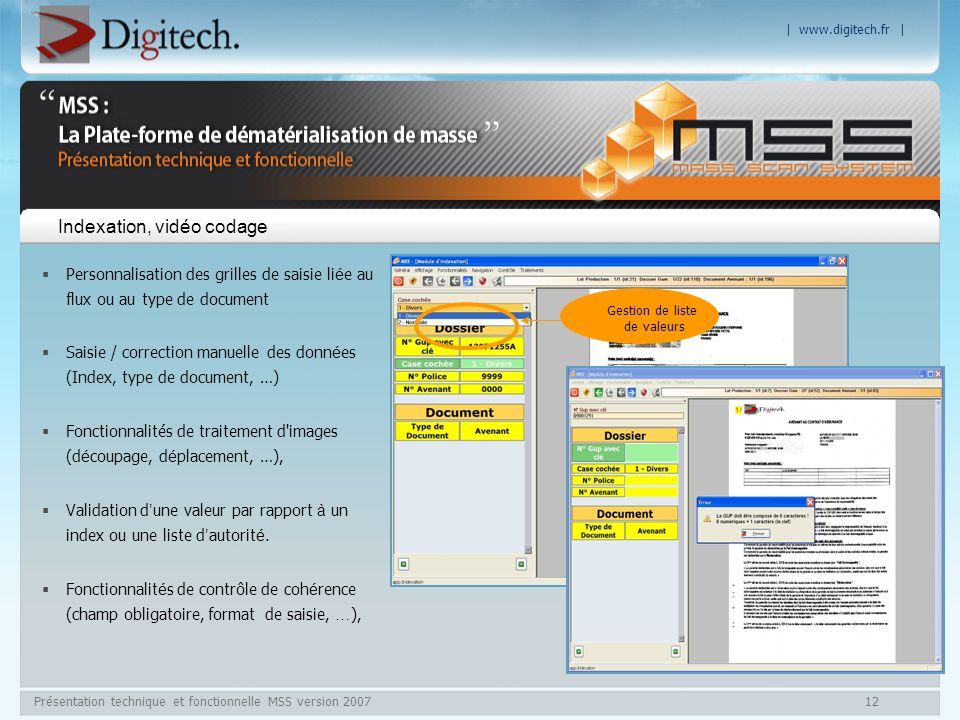 Indexation, vidéo codage
