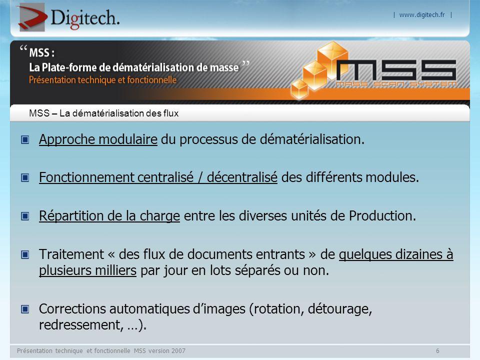MSS – La dématérialisation des flux