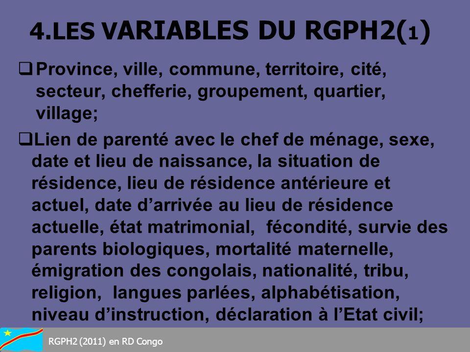 4.LES VARIABLES DU RGPH2(1)