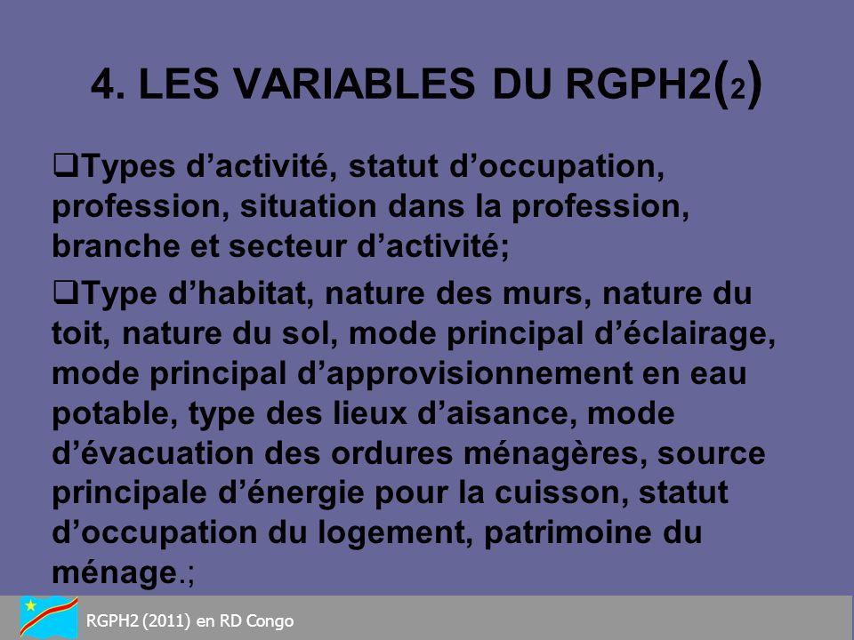4. LES VARIABLES DU RGPH2(2)