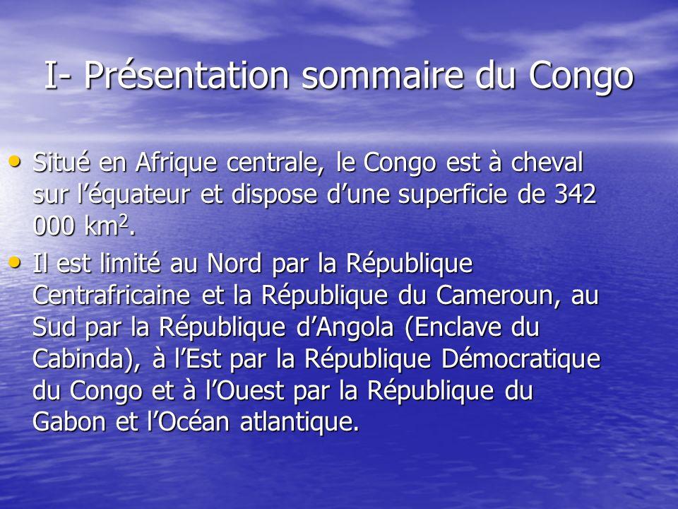 I- Présentation sommaire du Congo