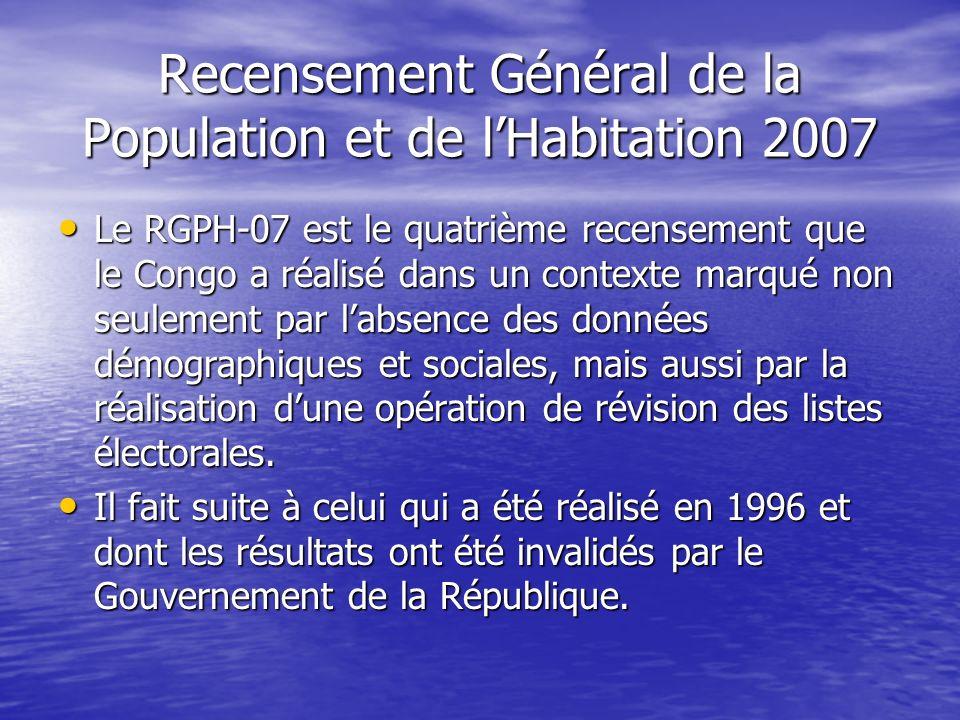 Recensement Général de la Population et de l'Habitation 2007