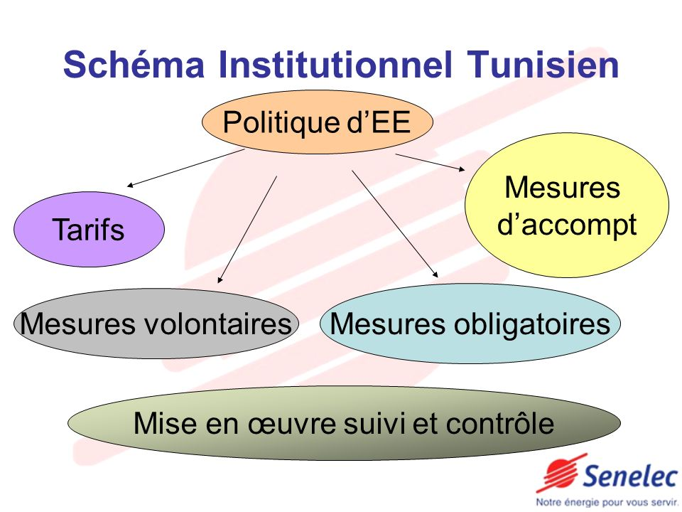 Schéma Institutionnel Tunisien