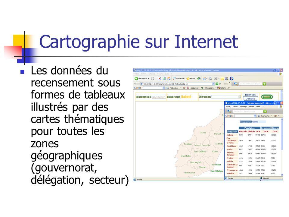 Cartographie sur Internet