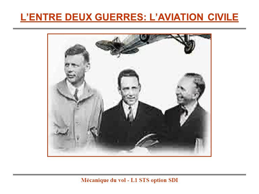 L'ENTRE DEUX GUERRES: L'AVIATION CIVILE