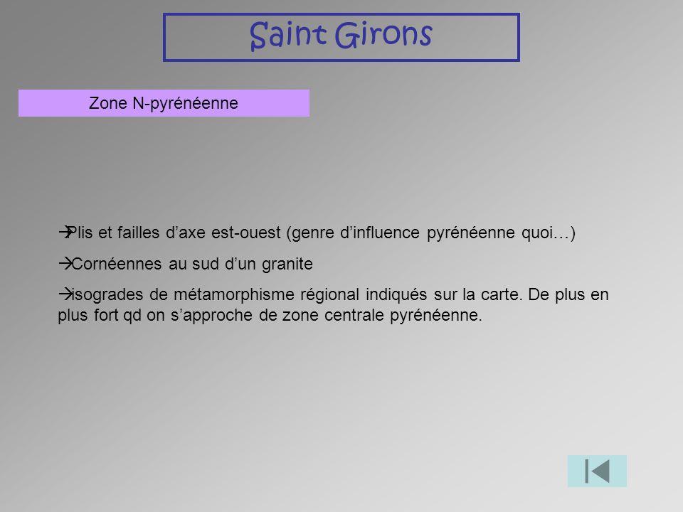 Saint Girons Zone N-pyrénéenne