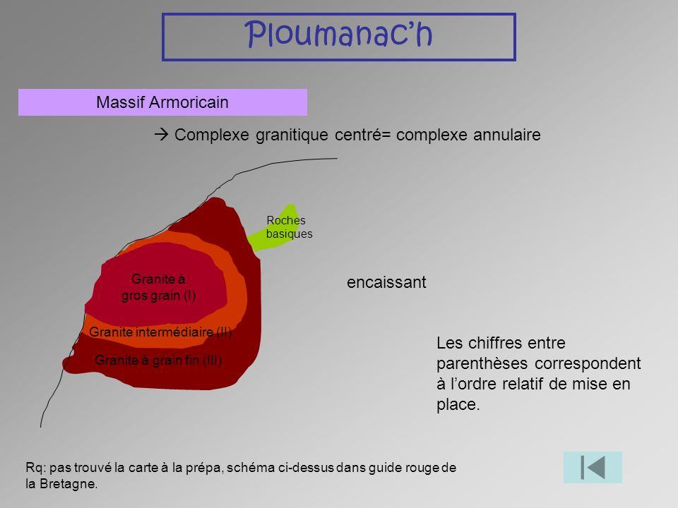 Ploumanac'h Massif Armoricain