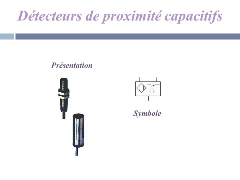 Détecteurs de proximité capacitifs